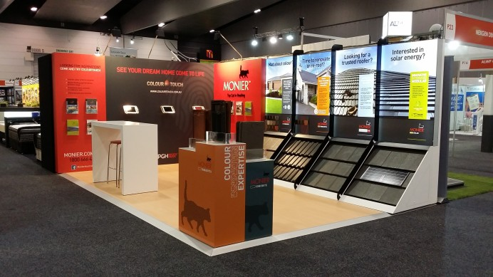 Custom Exhibition Stand Yet : Custom exhibition display stands expo booth colab design