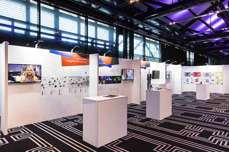 Custom Exhibition Stands Melbourne : Custom exhibition display stands expo booth colab design